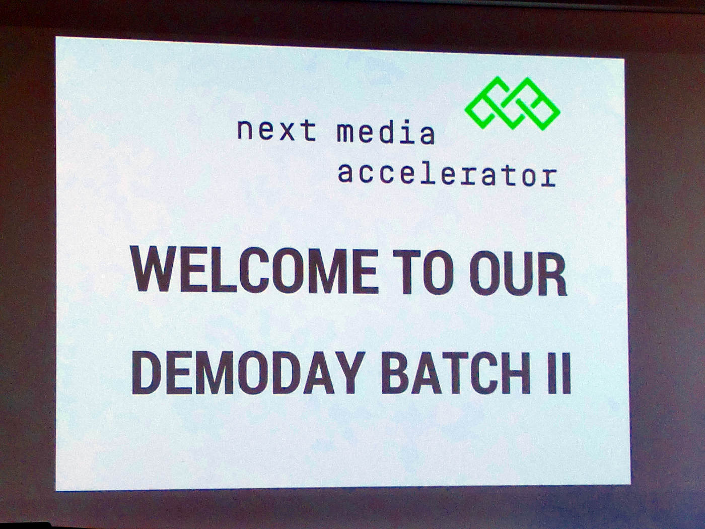 Next Media Accelerator Demo Day Batch II